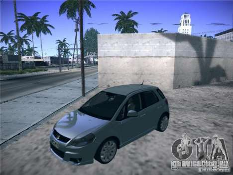 Suzuki SX4 2012 для GTA San Andreas вид сзади слева