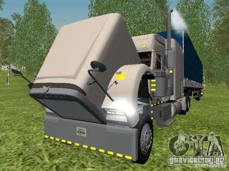 Freightliner FLD120 Classic XL Midride для GTA San Andreas вид изнутри