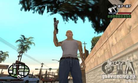 Eminem для GTA San Andreas пятый скриншот