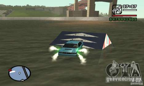 Трамплин для GTA San Andreas третий скриншот