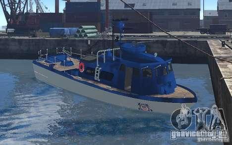 Coast Guard Patrol для GTA 4 вид слева