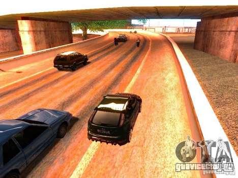 Нормальные водилы на трассе для GTA San Andreas пятый скриншот