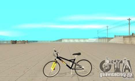 KTM Bike beta для GTA San Andreas вид слева
