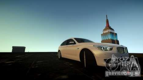 BMW GT F07 2012 GranTurismo для GTA 4 вид сбоку
