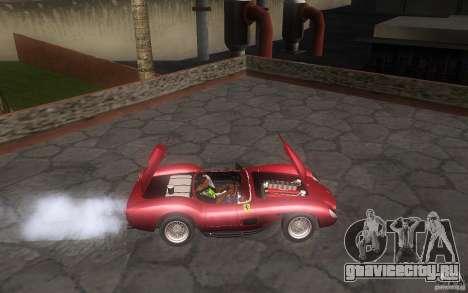 Ferrari 250 Testa Rossa для GTA San Andreas вид сзади