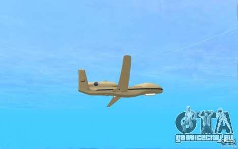 Grumman RQ-4 для GTA San Andreas вид справа
