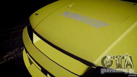 Nissan Skyline GTS R33 для GTA San Andreas вид изнутри