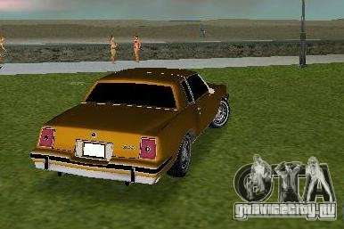 Pontiac Grand Prix для GTA Vice City вид справа