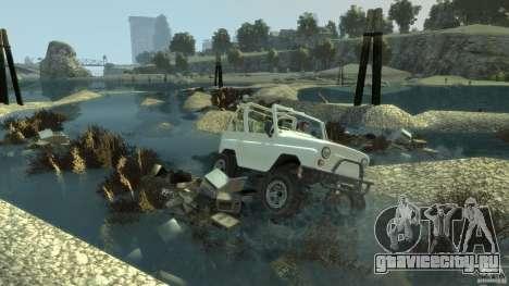 4x4 Trail The Reef для GTA 4 третий скриншот