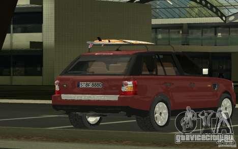 Land Rover Range Rover 2007 для GTA San Andreas вид слева
