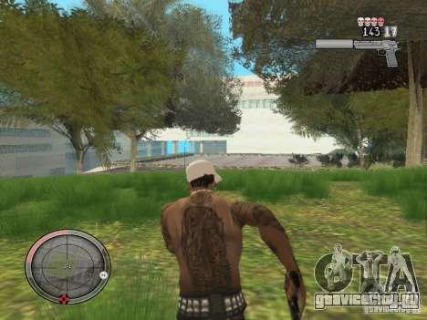 GTA IV HUD v4 by shama123 для GTA San Andreas четвёртый скриншот