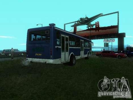 ЛиАЗ 5256-26 для GTA San Andreas вид сзади слева