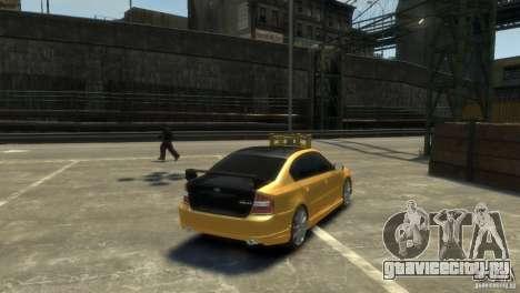 SUBARU Legacy B4 tuning для GTA 4 вид слева