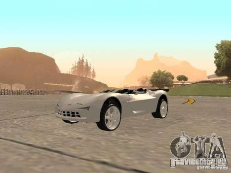 Chevrolet Corvette C7 Spyder для GTA San Andreas