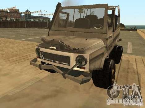 Луаз 969 Offroad для GTA San Andreas вид сбоку