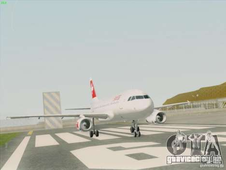 Airbus A319-112 Swiss International Air Lines для GTA San Andreas