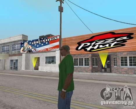 Новые текстуры закусочных и магазинов для GTA San Andreas десятый скриншот