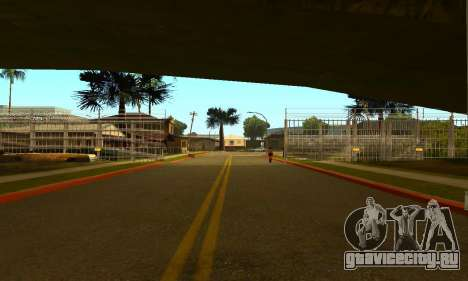 Забор вокруг Groоve Sreet для GTA San Andreas второй скриншот