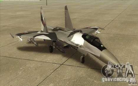 Су-35 БМ v2.0 для GTA San Andreas вид слева