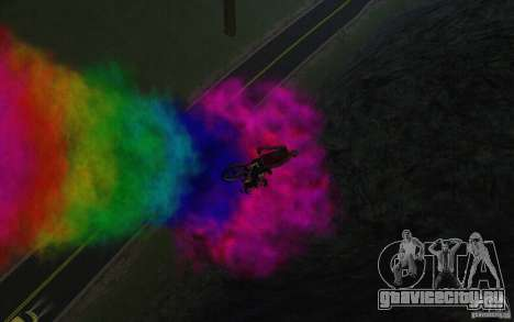 Bike Smoke для GTA San Andreas шестой скриншот