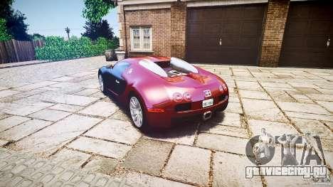 Bugatti Veyron 16.4 v3.0 2005 [EPM] Machiavelli для GTA 4 вид сзади слева