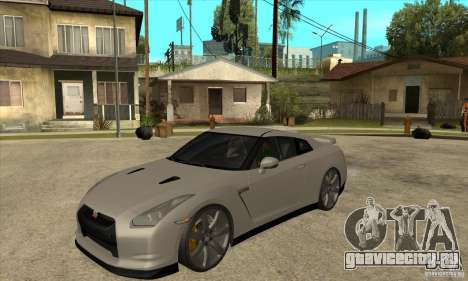 Nissan GT-R R35 2008 для GTA San Andreas