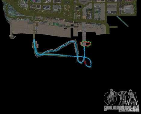 Night moto track V.2 для GTA San Andreas восьмой скриншот