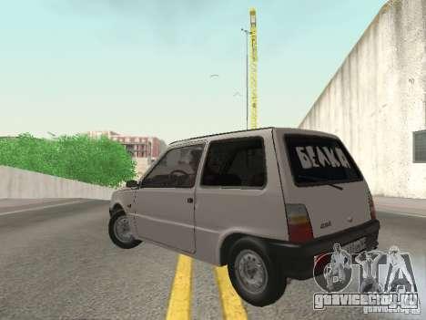 ВАЗ 1111 Ока Белка для GTA San Andreas вид слева