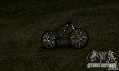 Велосипед с надписями Monster Energy для GTA San Andreas