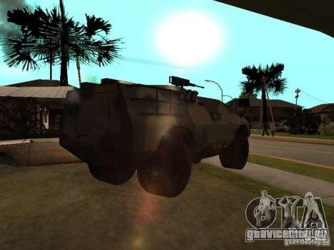S.W.A.T из Counter Strike Source для GTA San Andreas вид сзади слева