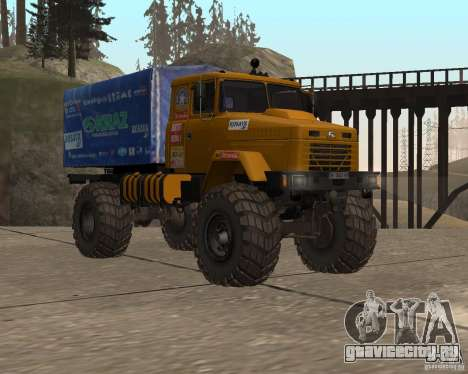 КрАЗ Monster для GTA San Andreas