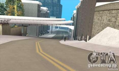 Полёт в Либерти Сити для GTA San Andreas второй скриншот