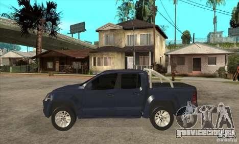 Volkswagen Amarok 2010 для GTA San Andreas вид слева