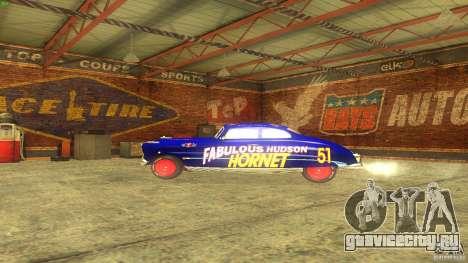 Hornet 51 для GTA San Andreas вид изнутри