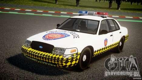 Ford Crown Victoria Karachi Traffic Police для GTA 4