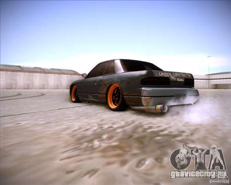 Nissan Silvia S13 Under Construction для GTA San Andreas вид сзади слева