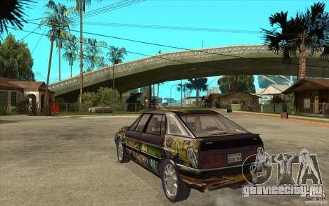 Citroen XM Custom для GTA San Andreas вид сзади слева
