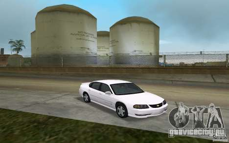 Chevrolet Impala SS 2003 для GTA Vice City вид сзади
