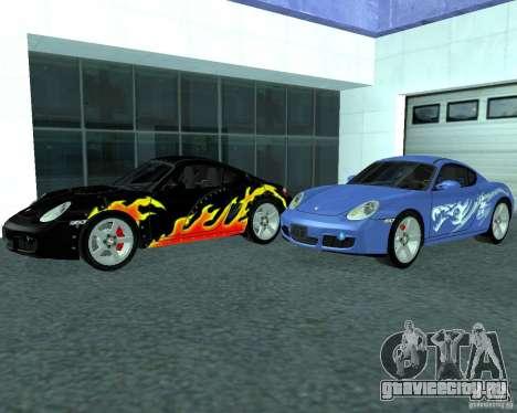 Porsche Cayman S для GTA San Andreas