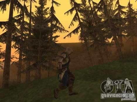 Connor From ACIII для GTA San Andreas третий скриншот