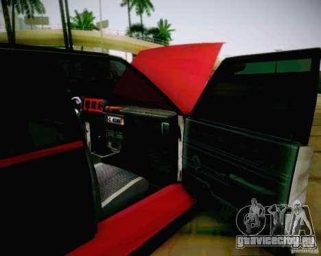 Tofas Dogan SLX DRIFT для GTA San Andreas вид сзади