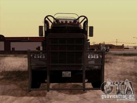 Peterbilt 359 Day Cab для GTA San Andreas вид слева