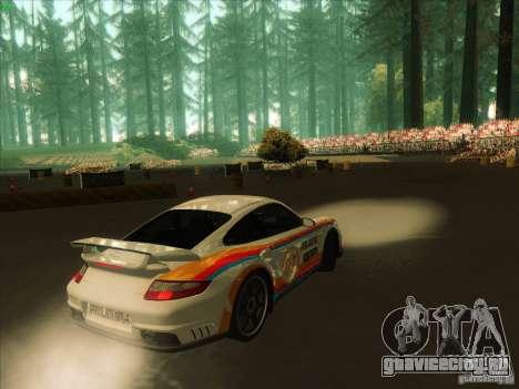 Porsche 997 GT2 Fullmode для GTA San Andreas вид справа