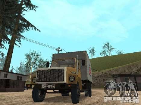 ГАЗ 3309 CR v2 для GTA San Andreas вид справа