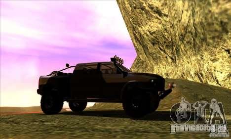Dodge Ram All Terrain Carryer для GTA San Andreas вид справа