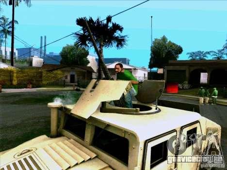 Hummer H1 Irak для GTA San Andreas вид справа