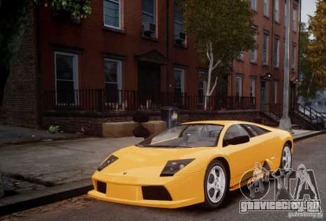 Lamborghini Murcielago для GTA 4 вид слева