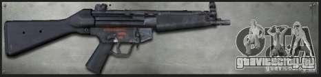 MP5A4 для GTA San Andreas