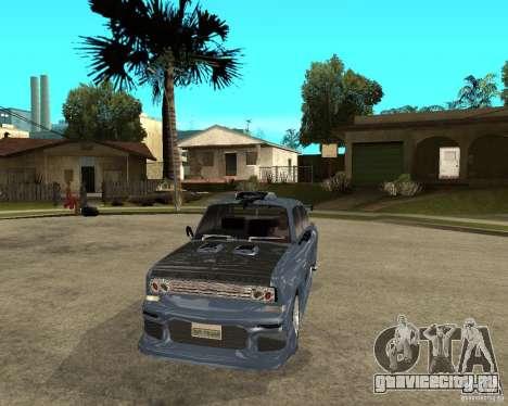 АЗЛК 2140 SX-Tuned для GTA San Andreas вид сзади