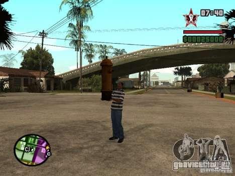 CJ - Клептоман для GTA San Andreas второй скриншот